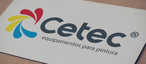 logotipo da Cetec - Equipamentos para pintura, empresa representante da Titan no Brasil.
