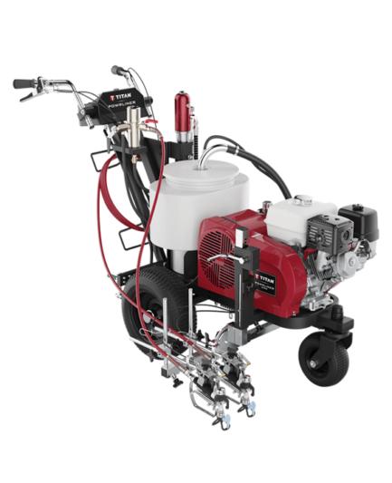 Imagem do equipamento para demarcação PowrLiner 6955 da Titan com fundo branco